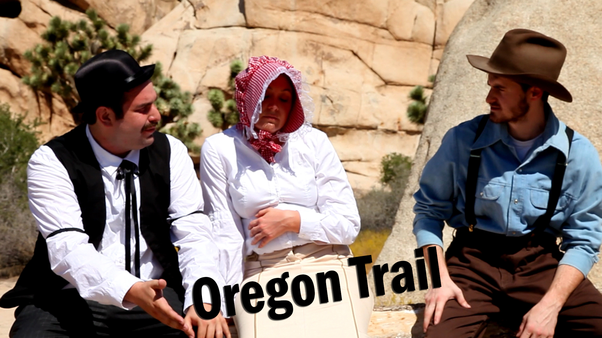 <b>Dave and Eli head out on the open trail in search of fortune and manifest destiny.</b>