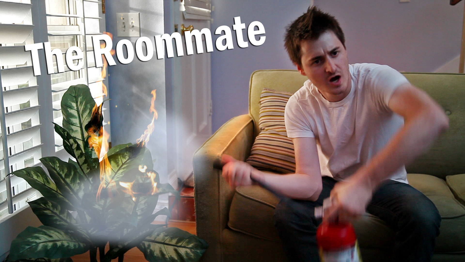 <b>Dave and Eli hold an intervention for their unruly roommate.</b>